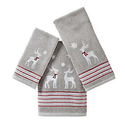 SKL Home Silver Snow Bath Towel Collection