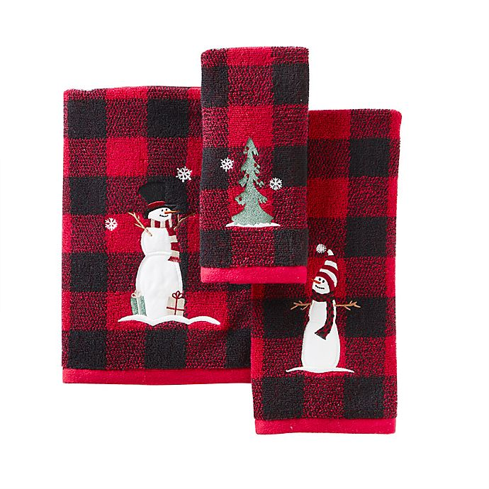 Alternate image 1 for SKL Home Winter Snow Friends Bath Towel and Accessories Collection<br />