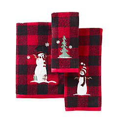 SKL Home Winter Snow Friends Bath Towel and Accessories Collection<br />