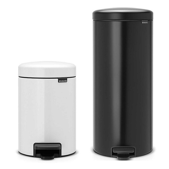 Alternate image 1 for Brabantia® newIcon Step-On Trash Can Collection