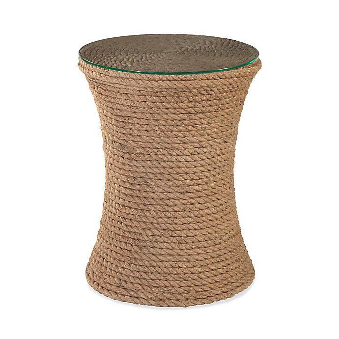 Alternate image 1 for Bassett Mirror Company Sampson Round Drum Table