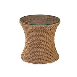 Bassett Mirror Company Sampson Small Round Drum Table