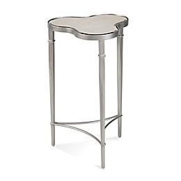 Bassett Mirror Company Clover Scatter Table in Platinum