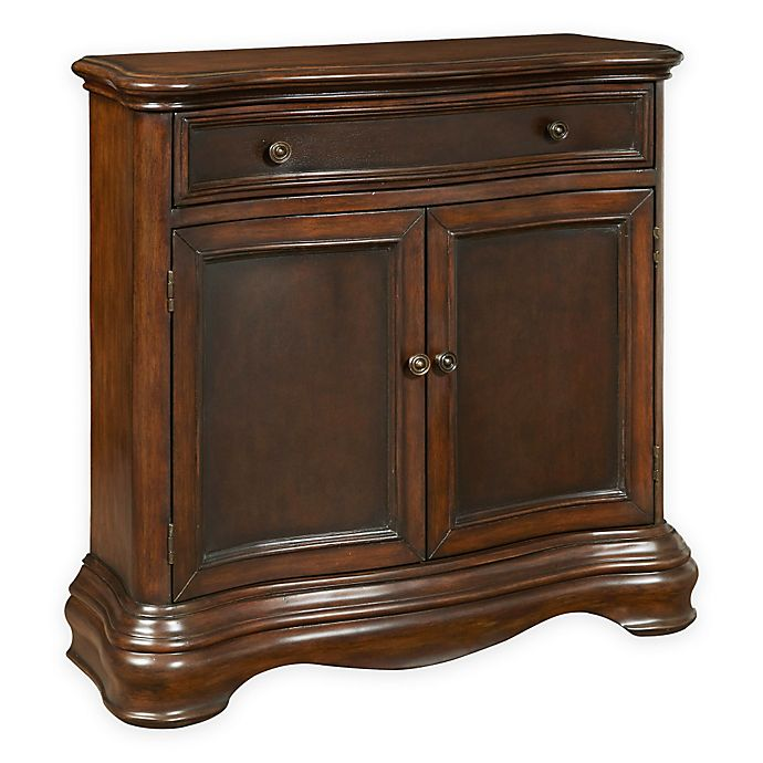 Alternate image 1 for Pulaski Carter Curved Hall Chest in Mahogany