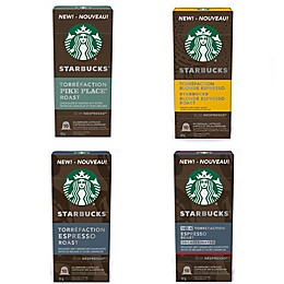 Starbucks® by Nespresso® Coffee Capsules 10-Count Collection