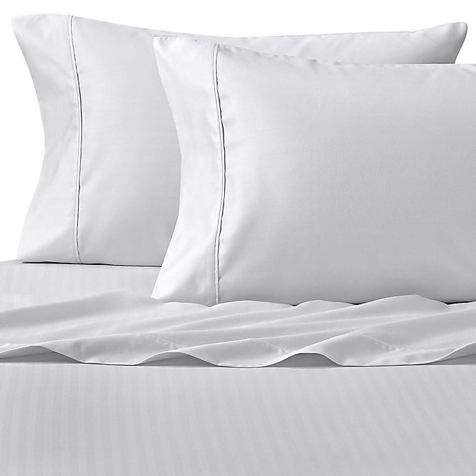Alternate image 1 for Wamsutta® Dream Zone® PimaCott® 625-Thread-Count Sheet Set in White