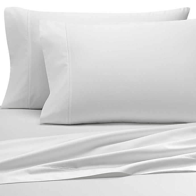 Alternate image 1 for Wamsutta® PimaCott® 500-Thread-Count Sheet Collection in White