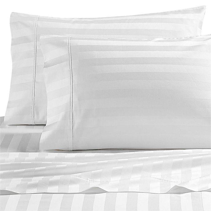 Alternate image 1 for Wamsutta® Dream Zone® PimaCott® 1000-Thread-Count Pillowcases  in White (Set of 2)