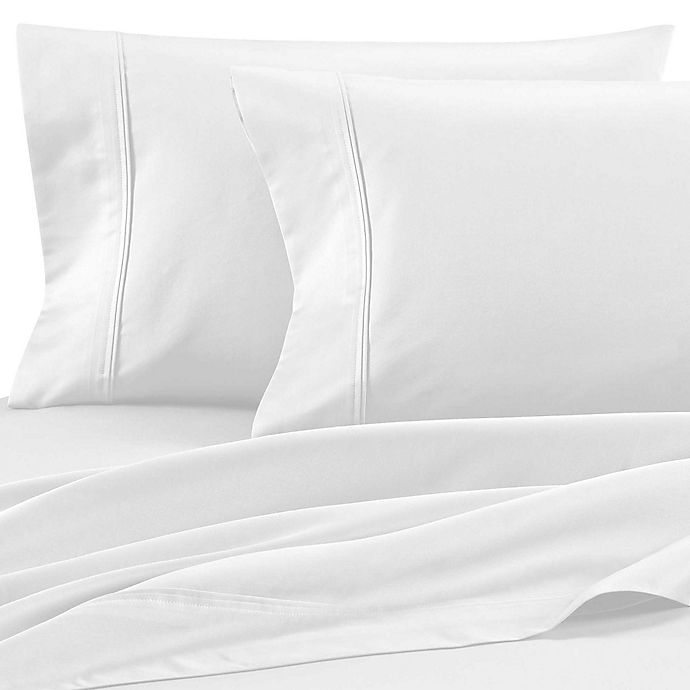 Alternate image 1 for Wamsutta® Dream Zone® 850-Thread-Count PimaCott® Sheet Collection in White