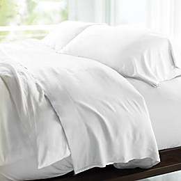 Cariloha® Resort Sateen Viscose Made From Bamboo Pillowcases in White (Set of 2)