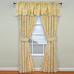 Waverly® Cape Coral 2-Pack 84-Inch Rod Pocket Window Curtain Panels
