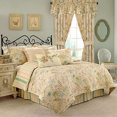 Waverly® Cape Reversible Quilt Set in Coral