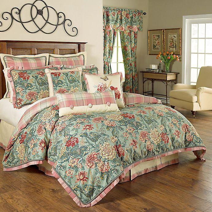 Alternate image 1 for Waverly® Sonnet Sublime Reversible Comforter Set in Jewel