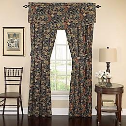 Waverly® Rhapsody Window Curtain Panels and Valance in Jewel