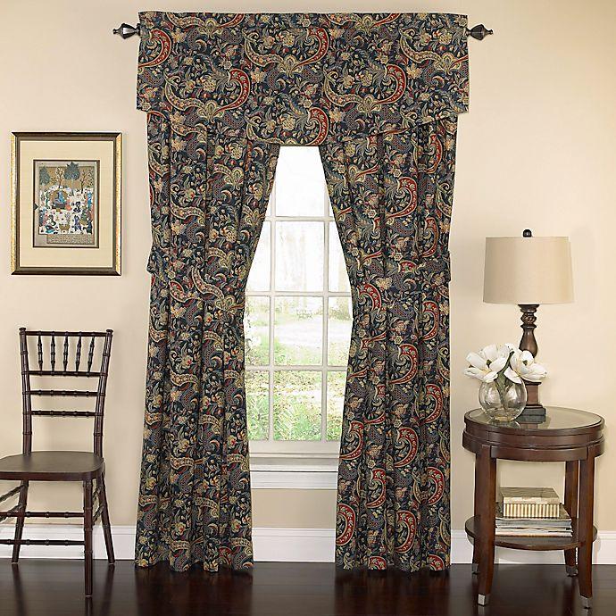 Alternate image 1 for Waverly® Rhapsody 84-Inch Window Curtain Panel Pair in Jewel