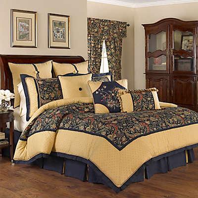 Waverly® Rhapsody Reversible Comforter Set in Jewel