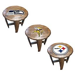 NFL Oak Barrel Table Collection