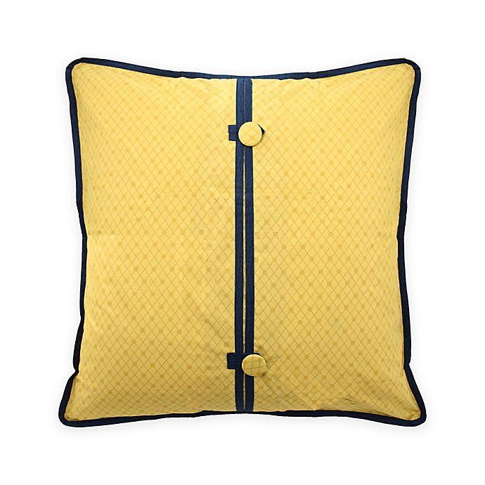 Alternate image 1 for Waverly® Rhapsody European Pillow Sham in Gold