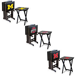 Collegiate 5-Piece TV Tray Set Collection