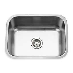 Houzer Eston Series Undermount Kitchen Sink in Satin