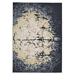 Feizy Farrell Orb Rug in Charcoal
