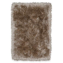 Mohawk Home® Juliet 2'6 x 3'10 Metallic Shag Accent Rug in Taupe