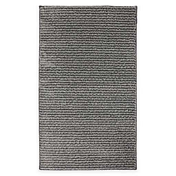 Mohawk Home® Pin Stripe 2-Foot 5-Inch x 3-Foot 8-Inch Washable Accent Rug in Grey