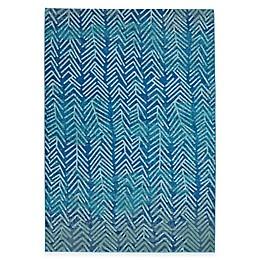 Feizy Caslon Arrows Rug in Blue