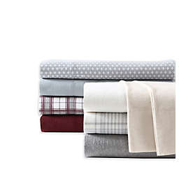UGG® Flannel King Sheet Set in Grey Plaid