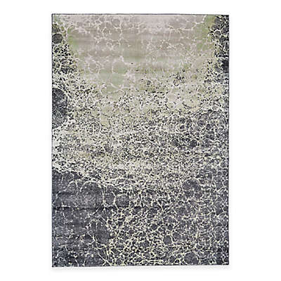 Feizy Landri Cracks Rug in Taupe/Grey