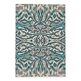 Feizy Keaton Ikat Rug in Turquoise