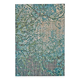 Feizy Keaton Branch Rug in Blue/Grey
