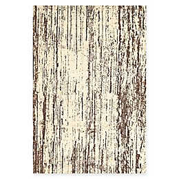 Feizy Settat Lines Rug in Brown/Cream