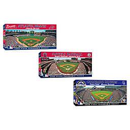 MLB 1000-Piece Stadium Panoramic Jigsaw Puzzle Collection