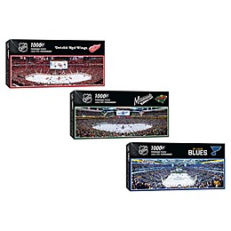 NHL 1000-Piece Arena Panoramic Jigsaw Puzzle Collection