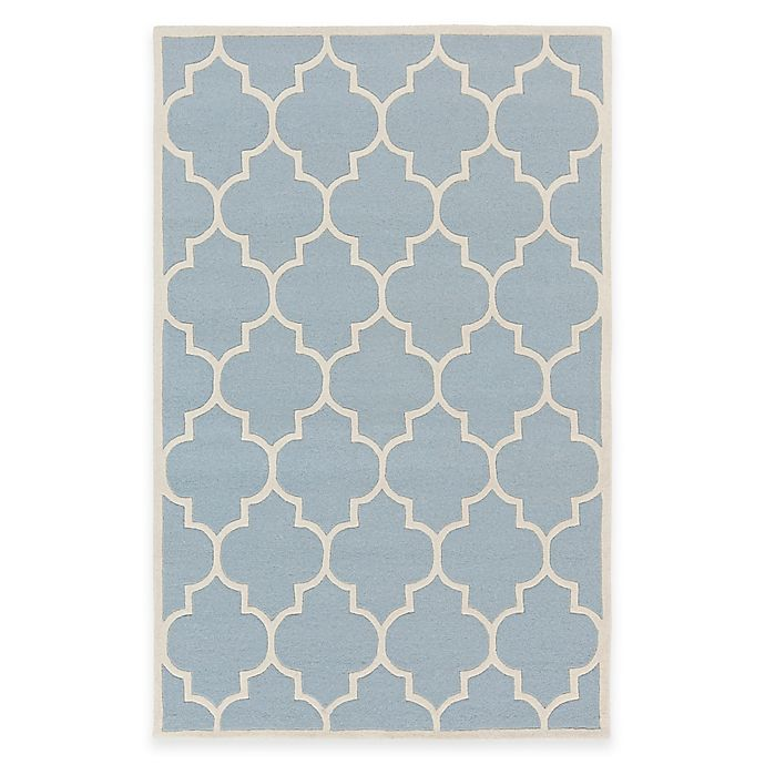 Alternate image 1 for Artistic Weavers Transit Piper 2-Foot x 3-Foot Accent Rug in Light Blue