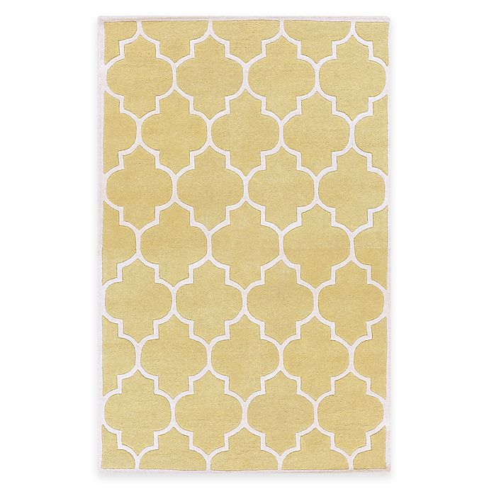 Alternate image 1 for Artistic Weavers Transit Piper 3-Foot x 5-Foot Area Rug in Yellow