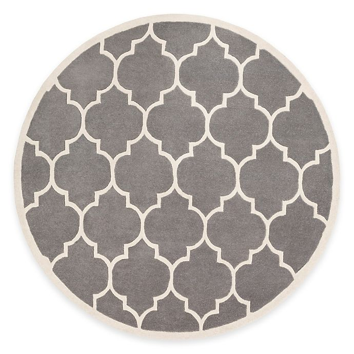 Alternate image 1 for Artistic Weavers Transit Piper 6-Foot Round Area Rug in Grey