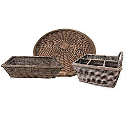 Bee & Willow™ Home Kitchen Wicker Collection in Grey<br />