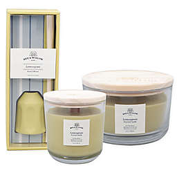 Bee & Willow™ Home Lemongrass Core Candle and Mini Reed Diffuser Collection