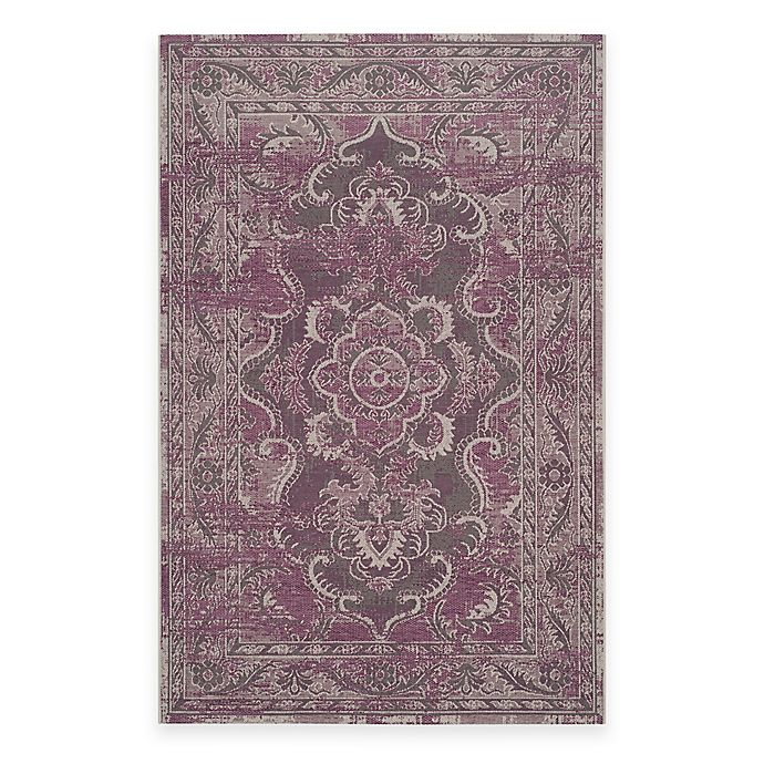 Alternate image 1 for Safavieh Palazzo Alyx Rug in Grey/Purple