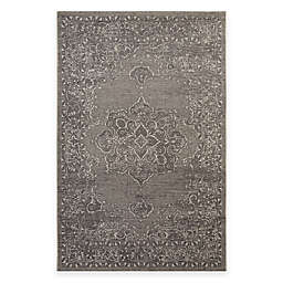 Safavieh Palazzo Cade 4-Foot x 6-Foot Area Rug in Light Grey/Anthracite