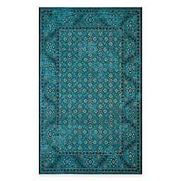 Safavieh Palazzo Pace Rug in Turquoise/Cream