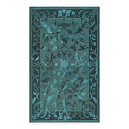 Safavieh Palazzo Kalei Rug in Black/Turquoise