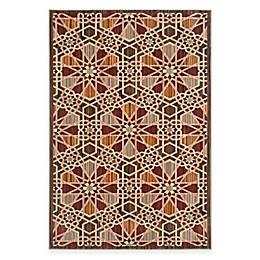 Safavieh Infinity Star Rug in Brown/Beige