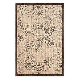 Safavieh Infinity Damask Rug in Yellow/Brown