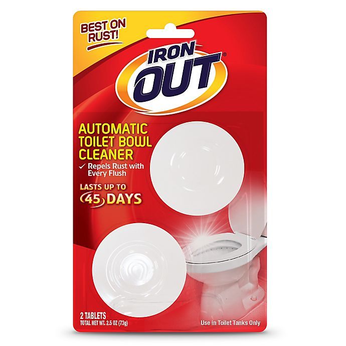 Alternate image 1 for Iron Out 2-Pack Automatic Toilet Bowl Cleaner