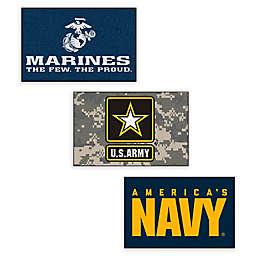 "U.S. Military 30"" x 19"" Starter Floor Mat Collection"