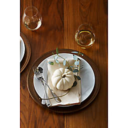 Pumpkin White Fall Table Collection