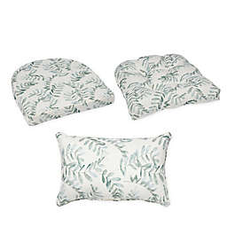 Bee & Willow™ Home Fern Chair Cushion Collection